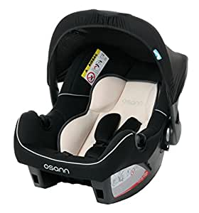 Osann 100-101-94 Babyschale Babytrage Kinderautositz BeONE SP deluxe Fossil, 0 bis 13 kg, ECE Gruppe 0 +, von Geburt bis circa 15 Monate, mit Verdeck