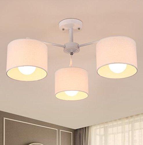 BBSLT Di stile moderno minimalista lampada da soffitto LED luce accogliente camera da letto lampada round il soggiorno lampadario personalità creativa di diametro 600/800mm 310mm , bianco 3