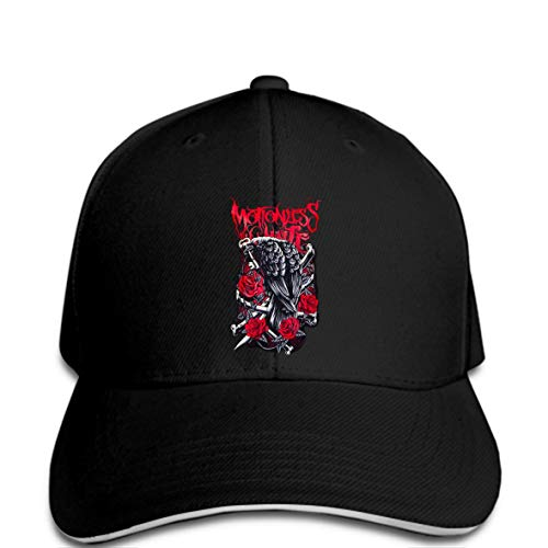 fcebd3c487479 Men Baseball Cap Fashion Motionless in White Infamous Crow Cool Hat Women