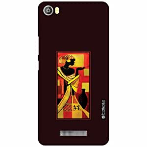Lava Iris X8 Back Cover - Silicon Folk Designer Cases