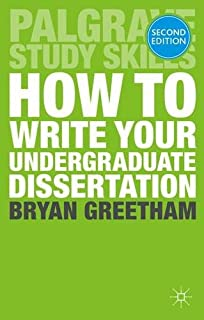 Best books on how to write a dissertation