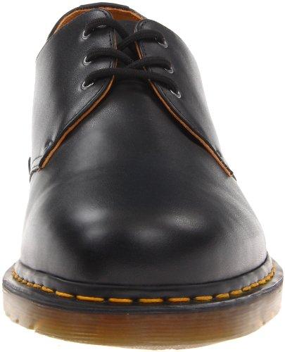 Hommes Dr Martens 1461 Classic De Cru LacetsRétro Cuir Chaussures Black