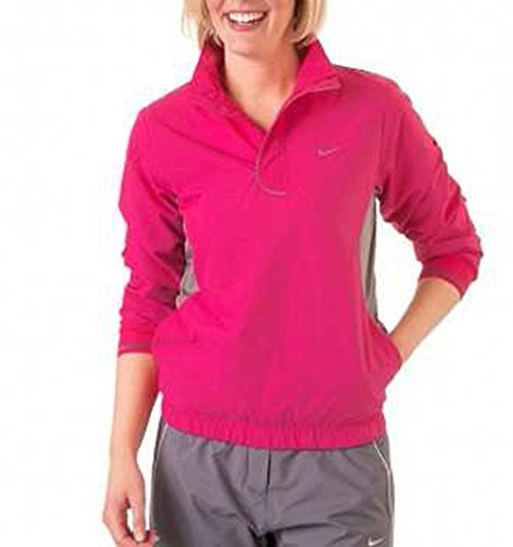 Nike Golf Dri-Fit Tech Winddichte Jacke, Größe M, Farbe: pink (Nike Windshirt Golf)