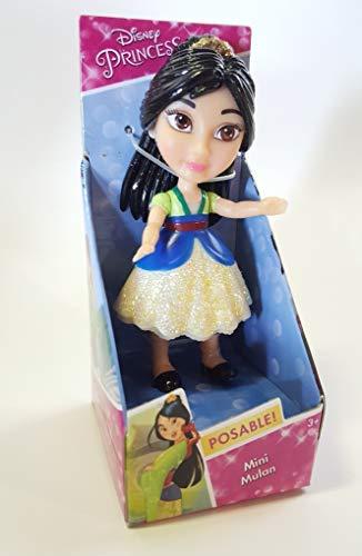 Jakks Pacific Muñeca Princesa Disney - Mulan,, 7,5 cm 84630