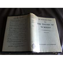 Introduction To the Theory of Numbers 3RD Edition