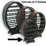 Cantinetta Portabottiglie Botte 12 posti