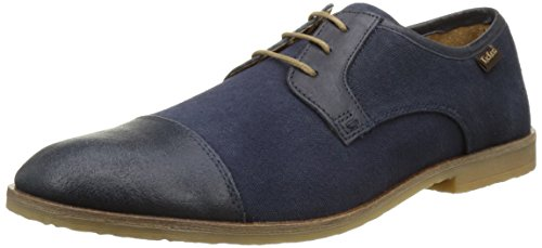 Kickers Mens Flams Derby Blue (blu Scuro)