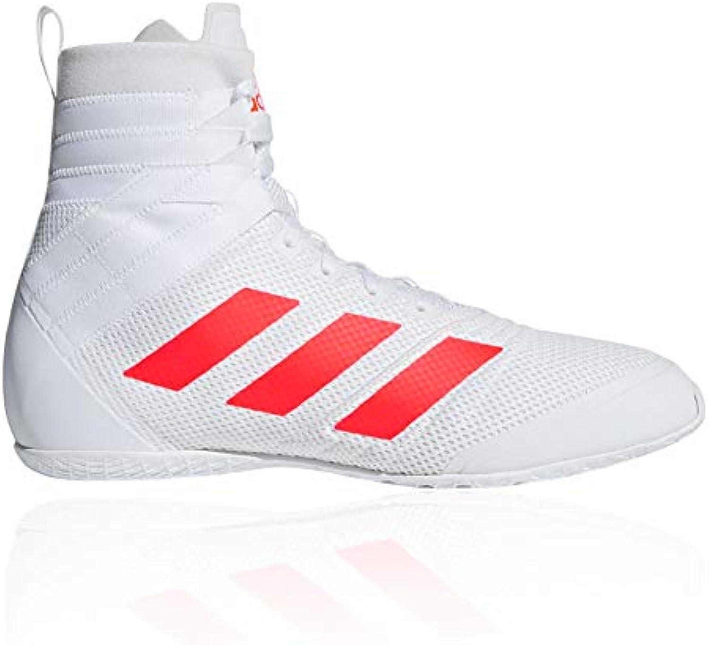 Adidas Speedex 18 18 18 Scarpe da Boxe – Bianco, bianca, 12,5 UK | Di Nuovi Prodotti 2019  1ec857