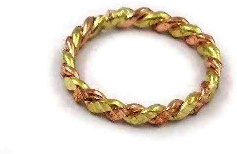 DivineShoppe pure astadhatu designer ring for both men and women set of 2 pieces