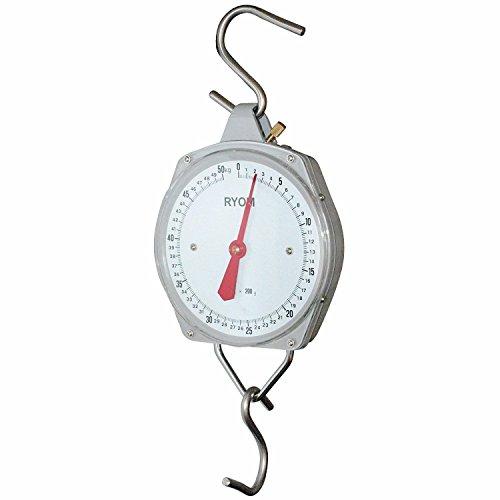Balance analogique PROFI 50kg / 200g - Balance à suspendre avec 2 crochets en forme de S
