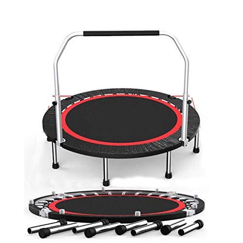 AOLI Trampolin Erwachsene Sport Gewichtsverlust/Gym Home Indoor Sprungbett/Outdoor-Trampolin/Mit Armlehnen 50 Zoll,350kg