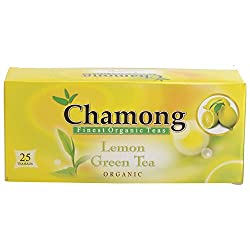 Chamong Lemon Green Tea, 25 Tea Bags
