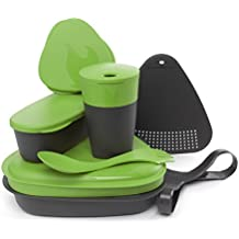 Light My Fire Essgeschirr Set Mealkit 2.0 für die Pause Camping und Outdoor - Táper de picnic, color verde