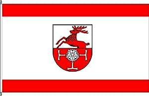 Flagge Fahne Hissflagge Issum - 60 x 90cm
