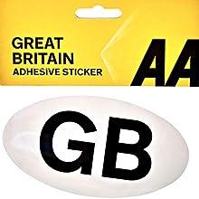 AA GB Badge Self Adhesive 5013918080038