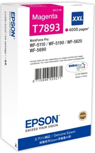 Epson C13T789340 Cartuccia, Magenta, con Amazon Dash Replenishment Ready