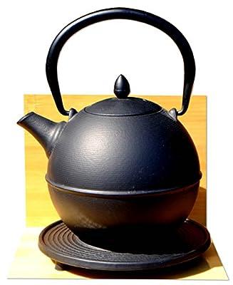 Cannon Ball & Dessous de Plat–Théière en fonte Style japonais Noir Tea Pot bouilloire 0.7litre