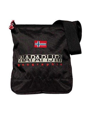 Borsettto Napapijri Crossover Harrington Small N0YFLQ 041-Black, Taglia unica MainApps