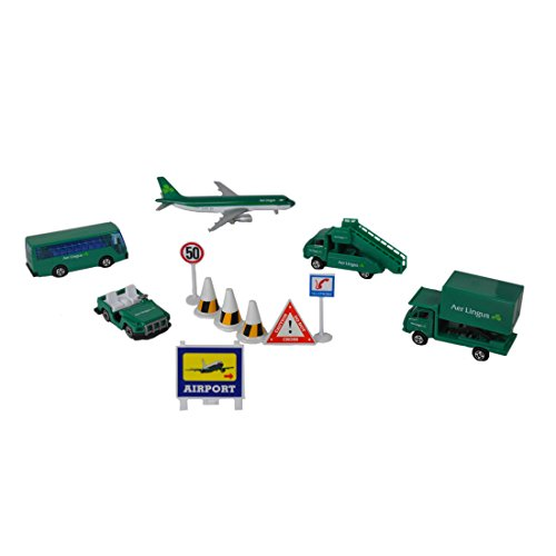 Real Toys AL75630 Real Toys AL75630 Aer Lingus 12piece Airport Playset