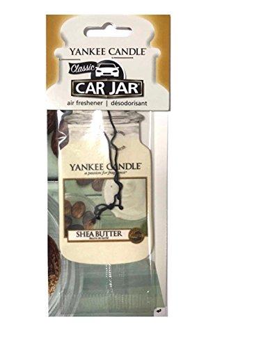 YANKEE CANDLE-Il Burro di Karitè Classic Car Jar, Cartone, Bianco, M,