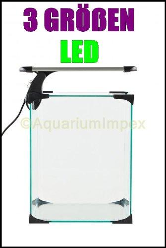 Nano LED Intenso 4,3 Watt Klemmleuchte Lampe Leuchte Aquarium Beleuchtung Aufsetzleuchte