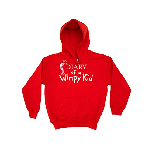 Chilledworld - The Diary of a Wimpy Kid Kids Hoodie -Jeff Books Kinney