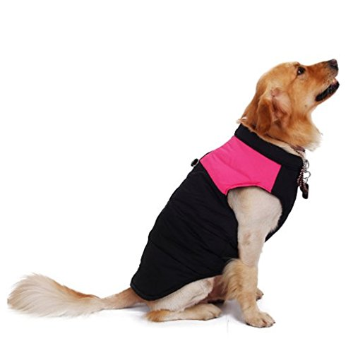 Größer Hundemantel wasserdicht Winterjacke Hundebekleidung Hundejacke Wintermantel Regenmantel - 3