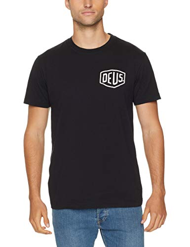Deus ex machina T-Shirts Venice Address T-Shirt - Black (Deus Machina Ex)