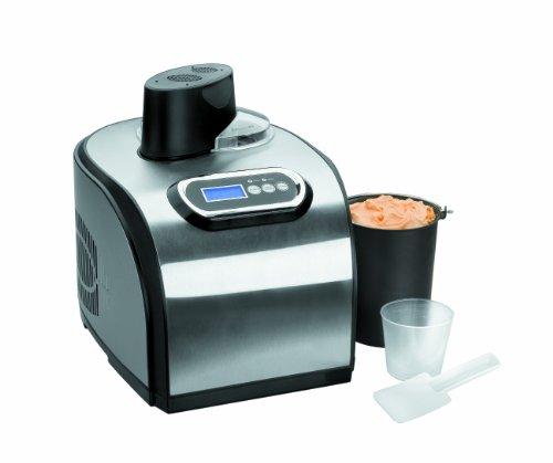 Lacor 69315 - Maquina elaboración helado, 150 W, 1,4 litros, gris