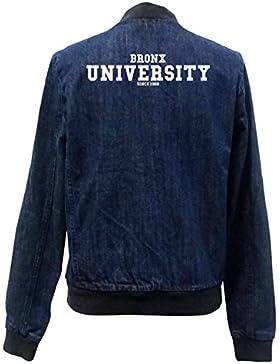 Bronx University Bomber Chaqueta Girls Jeans Certified Freak