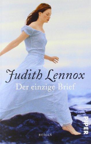 Buchseite und Rezensionen zu 'Der einzige Brief' von Judith Lennox