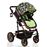 #6: Pavo Italia Luxury Stroller Cum Carry Cot with One-Touch Braking System Stroller - (Age:- 6 to 36 Months)