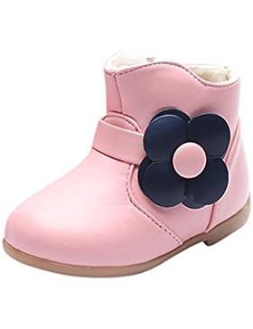 Kind Martin Stiefel, Kinder Baby Kinder Mädchen Warm Martin Sneaker Stiefel Blumen Schuhe Simonabo