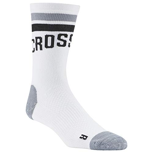 Reebok Unisex-Erwachsene Cf U Eng Crew So Socken, weiß, 40/42