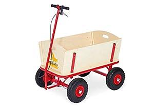 PINOLINO 239054 Til - Carro para niños (Madera, 95 x 60 x 58 cm, Carga máxima 80 kg)