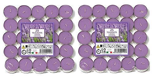 Fabelhafte Duft (Price's Candles 021937D Duft-Teelichter, Aladino Lavendel, 50 Stück)