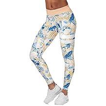 Zolimx Yoga y Ejercicio, Pantalones de Correr de Las Mujeres, Malla Para Correr