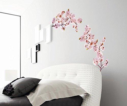 Wandtattoo Kirschblüte - 50 x 70 cm | PostersDE (Kirschblüten Wandtattoo)