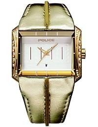 Police 11190JSG/06 - Reloj analógico de mujer de cuarzo con correa de piel - sumergible a 50 metros
