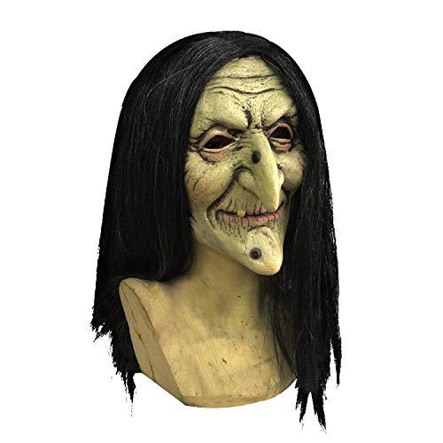 x Frauen Maske Gesicht Hexe ()