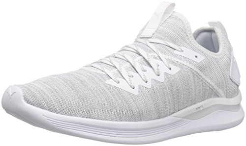 Puma Herren Ignite Flash Evoknit Cross-Trainer, Weiß (Puma White 03), 42.5 EU