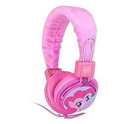 Sakar My Little Pony Plush Headphones, Pink (33557-TRU)