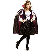 My Other Me - Disfraz de vampira reina, para niños de 5-6 años (Viving Costumes MOM01892)