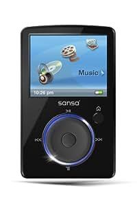 Sandisk Sansa Fuze FM Lecteur mp4 4 Go  Noir