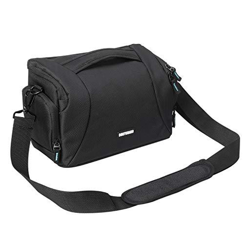 Bodyguard Fototasche für Spiegelreflexkameras Easy SLR XL groß Kameratasche Spiegelreflexkamera für Body und 3 Objektive, Camera Bag schwarz
