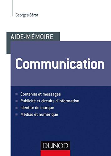 Aide-mémoire - Communication par Georges Séror