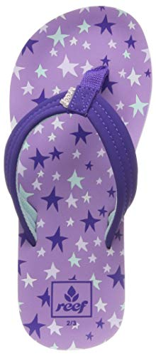 3f458817e3 Reef Kids Ahi, Tongs Fille, Multicolore (Purple Stars Prr), 31/32 EU