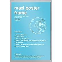 GB Eye LTD, Cornice per maxi-poster, 61 x 91,5 cm, Argento (silber)
