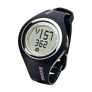 41YdrFCfwhL. SS300  - Sigma Women's Woman Softee PC 22.13 Heart Rate Monitor-Grey, One Size