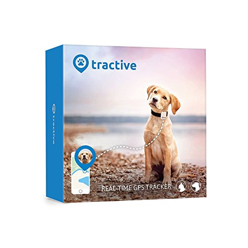 Tractive Dog GPS Tracker - The ideal Dog Tracker/Pet Tracker for dog tracking, the Dogfinder and Pet GPS collar attachment